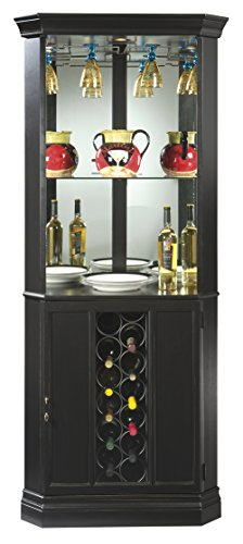 Metal Cabinet Wine Howard Miller (Howard Miller Piedmont II Wine and Bar Storage Cabinet)