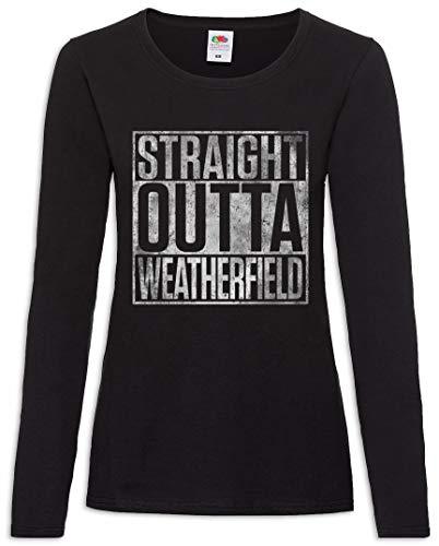 Xs Straight Manga Tamaños Women Larga T – shirt Outta 2xl De Weatherfield Mujer w6xvag