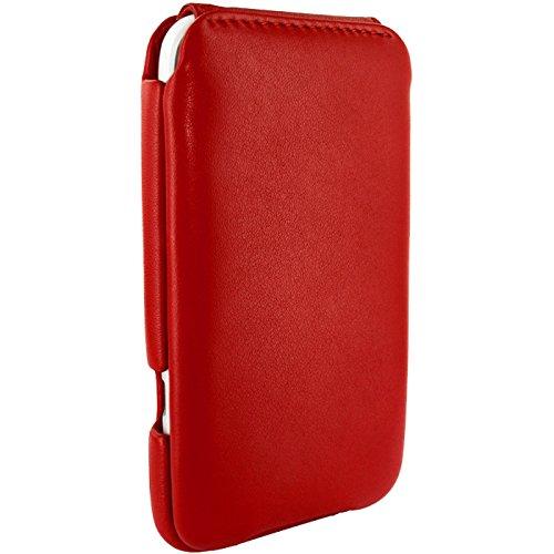 Piel Frama Wallet Case for HTC Sensation Xl - Red by Piel Frama