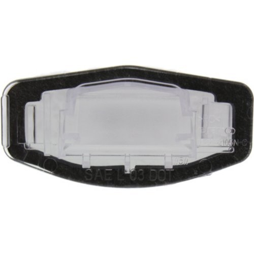 License Plate Lens Gasket - OE HONDA ACCORD 08-17 CIVIC 12-16 ACURA RDX 12-18 ILX 13-17 TSX 09-14 CSX 06-11 REAR LICENSE PLATE LAMP, RH=LH, License Plate Lens and Gasket, (Hybrid, 14-15), Sedan