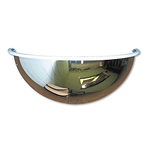 See All Half-Dome Convex Security Mirror, 26 inch (Half Dome Convex Mirror)