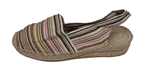 Alpargatus Heel Low Nano Stripes Espadrillas OOFwqHnvx