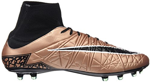 Uomo Calcio Rd Brnz Nero white Hypervenom DF Nike grn Oro Scarpe Blk Bianco II Phatal FG da Glw Mtlc 8qf7HO0w