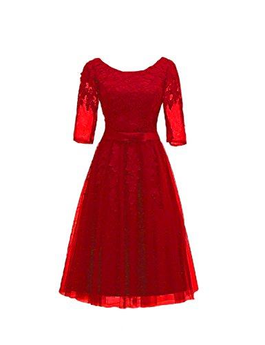 Stillluxury Vestido - Noche - para Mujer Rosso