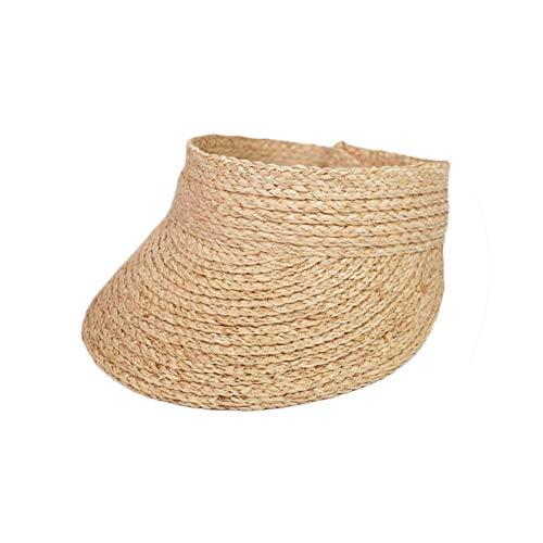 Ladies uv roll up Korean Sun Visor hat