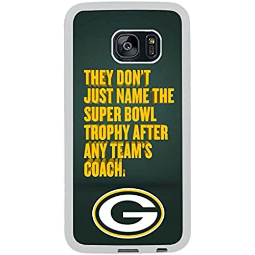 Galaxy S7 Edge Case,Greenbay Packers Qoute White Premium Hybrid High Impact *Shock Absorbent* Defender Case For Samsung Galaxy S7 Edge Sales