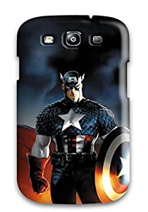 Fashion WDRkVFC2347XtlWa Case Cover For Galaxy S3(the Avengers Trio)