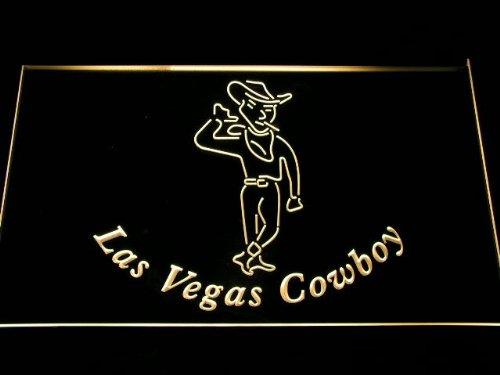 ADVPRO Cartel Luminoso i1005-y Las Vegas Cowboy Smoking Bar ...
