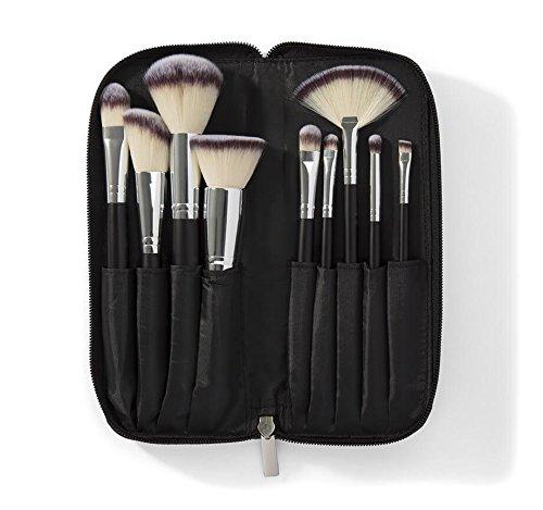 Morphe 9 Piece Deluxe Vegan MakeUp Brush Set (Set 502)