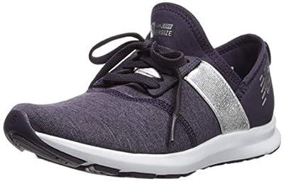 New Balance Women's Nergize V1 FuelCore Sneaker,ELDERBERRY,7 D US