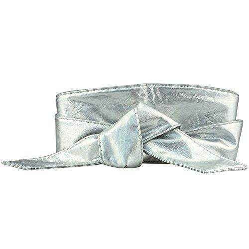 silber gürtel breit