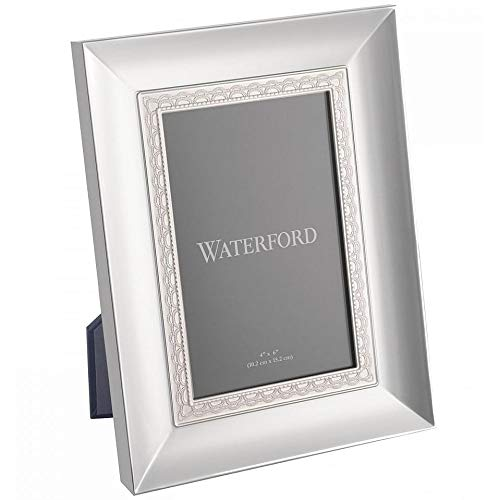 Waterford Lismore Lace Silver-Plated 5 x 7-in Picture Frame
