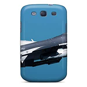 Ultra Slim Fit Hard Mjdavis Case Cover Specially Made For Galaxy S3- F 16 Fighting Falcon At Kunsan Air Base