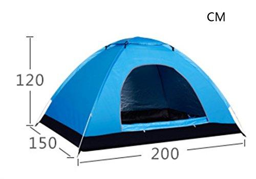 軽食洋服ビリーヤギテント自動スピードオープンテント屋外キャンプ防水モイスチャーサンスクリーンキャンプ2人