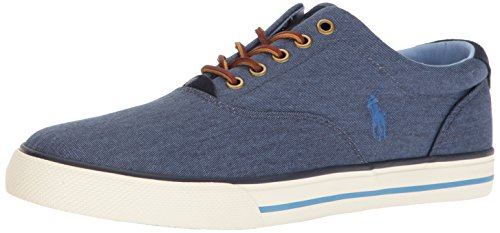 Polo Ralph Lauren Men's Vaughn, Newport Navy, 8.5 D US
