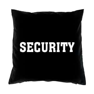 Sofá FUN Cojín con relleno–texto en inglés: Security–Cooles print4u sofá sofá cojín (Cumpleaños Navidad