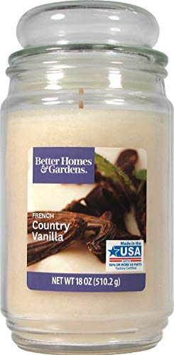 Better Homes  Gardens 18 Oz Candle, French Country Vanilla
