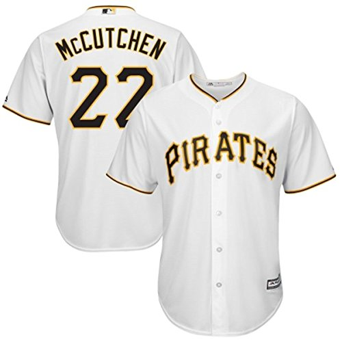 Andrew McCutchen Pittsburgh Pirates #22 MLB Youth Cool Base Home Jersey (Youth Large 14/16)