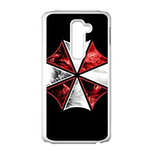 Red and white umbrella Cell Phone Case for LG G2