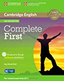 Complete First Student's Book Without Answers with CD-ROM, Guy Brook-Hart, 1107633907