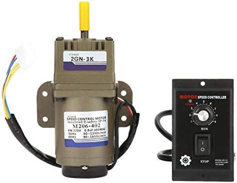 ZJN-JN ギアモーター、輸送用機器工作機械工業用AC 220V 6W変動金利単相非同期ギアモーター減速機遅らせるガバナー(3K) 工業用モータ