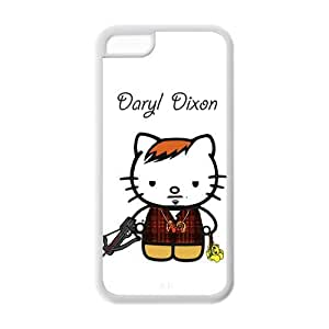 Daryl Dixon Hello Kitty Funny Norman Reedus iPhone 6 4.7'' Hard Case Back Cover NewOne Protective Cases