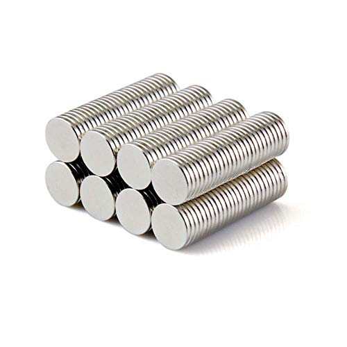 120Pcs 8X1mm(0.31X0.04in) Neodymium Rare Earth for Magnets, Hooks, Disc,Permanent, Building, Scientific, Craft .MYWEI