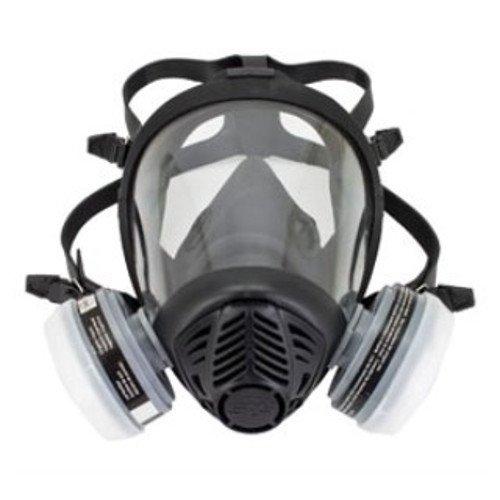 SAS Safety 312-2115 Full-Face Apr Respirator, Ov Cartridg...