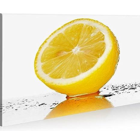 Quadro moderno cocina frutas limón impresión sobre lienzo ...
