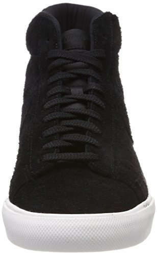 Nike Blazer Mid, Sneaker a Collo Alto Uomo Nero (Black/Black-summit White)