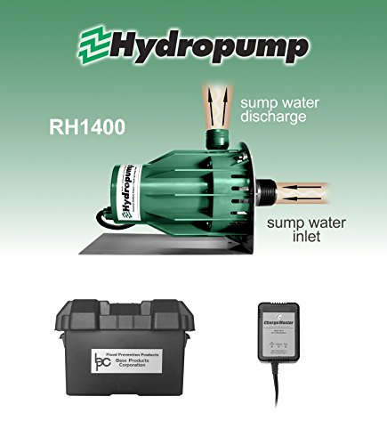 Hydropump RH1400 Battery Powered Backup Sump Pump