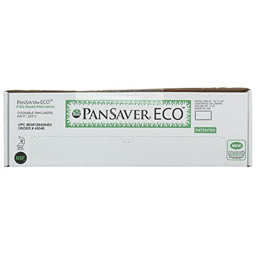 PanSaver Eco Full Size Clear Plastic Steam Table Pan Liner - 6''D by Hubert