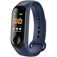 ClookYuan Smart Band Horloge Armband Fitness Tracker Stappenteller Hartslagmeter Waterdichte Polsband - Blauw