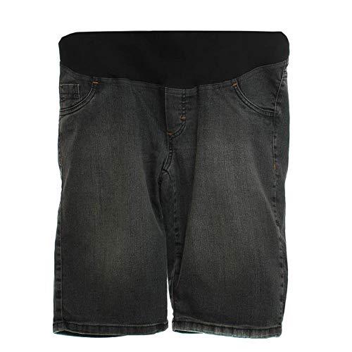 Bermuda Pedal Jeans Com Bolso Relogio