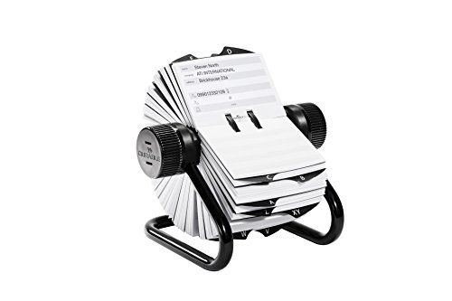 Durable Telindex Rotary Index - Black/Silver