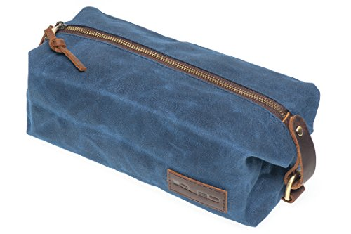 KUBO Waxed Canvas Waterproof Toiletry