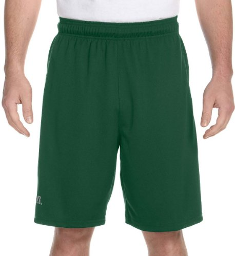 Russell Athletic Dri-Power Colorblock Short XL DARK (Russell Athletic Elastic Waist Shorts)