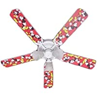 Ceiling Fan Designers Ceiling Fan, Disney Mickey Mouse #1, 52