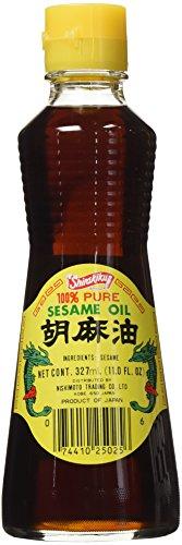 Shirakiku 100% Pure Sesame Oil 327ml. 11Oz. Bottle