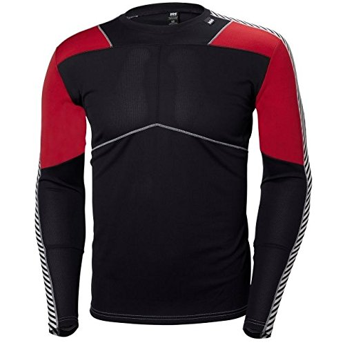 - Helly Hansen LIFA Crew Baselayer Top, Graphite Blue, X-Large
