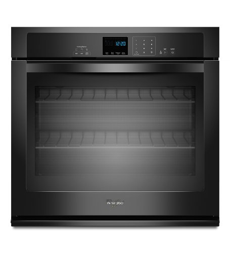 whirlpool electric oven black - 4