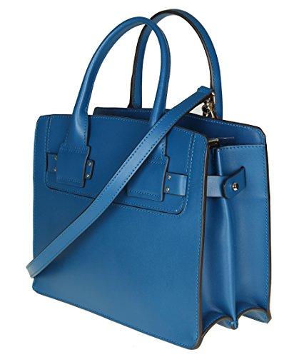 Damen Furla Leder 941670 Handtaschen Blau HqWd6w7