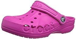 crocs Boys Baya Kids Clog,Neon Magenta,3 M US Little Kid