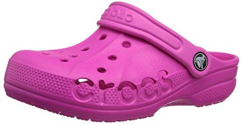 crocs 10190 Baya Kids Clog ,Neon Magenta,6 M US Toddler