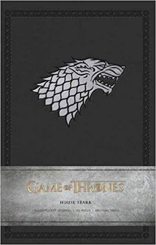 game of thrones house stark ruled pocket journal insights journals