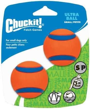 Chuckit! 17020 Ultra Ball, 2 Pelotas para Perros Compatible con el ...