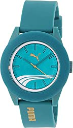 Puma Men's PU103971004 Aqua Rubber Quartz Watch