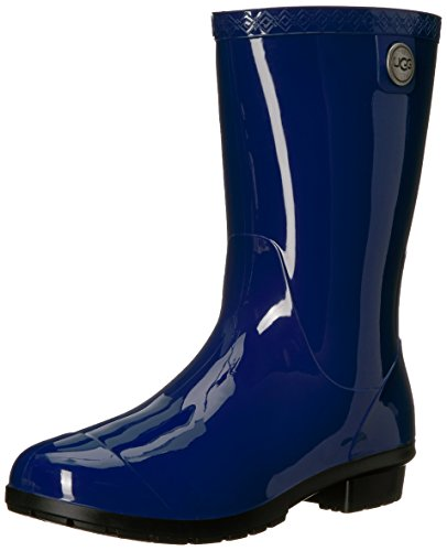 UGG Women's Sienna Rain Boot, Blue Jay, 7 B US