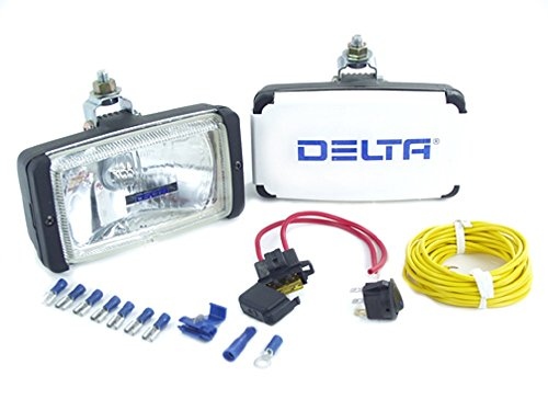 Delta Lights 01-1029-50 50 Series Universal Rectangle Driving Light Kit