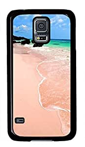 Beach View Theme Hard Back Cover Case For Samsung Galaxy S5 I9600 Case